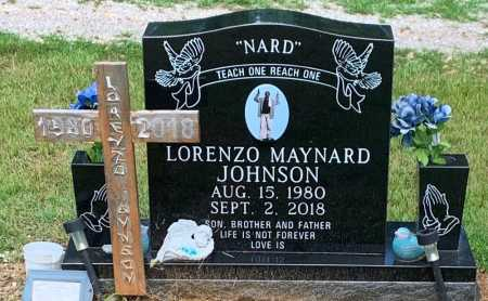 "JOHNSON, LORENZO MAYNARD ""NARD"" - Colbert County, Alabama | LORENZO MAYNARD ""NARD"" JOHNSON - Alabama Gravestone Photos"