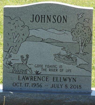 JOHNSON, LAWRENCE ELLWYN - Colbert County, Alabama   LAWRENCE ELLWYN JOHNSON - Alabama Gravestone Photos
