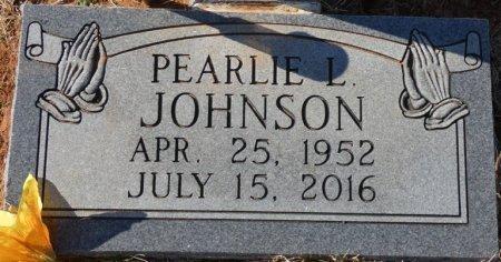 JOHNSON, PEARLIE L - Colbert County, Alabama | PEARLIE L JOHNSON - Alabama Gravestone Photos