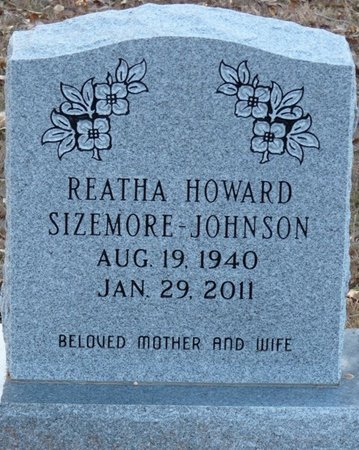 JOHNSON, REATHA - Colbert County, Alabama   REATHA JOHNSON - Alabama Gravestone Photos