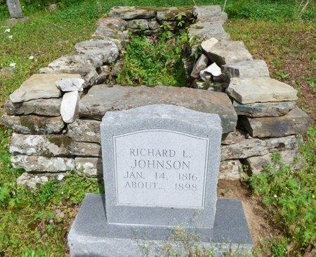 JOHNSON, RICHARD L - Colbert County, Alabama | RICHARD L JOHNSON - Alabama Gravestone Photos