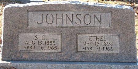 JOHNSON, S.C. - Colbert County, Alabama   S.C. JOHNSON - Alabama Gravestone Photos