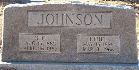 JOHNSON, ETHEL - Colbert County, Alabama   ETHEL JOHNSON - Alabama Gravestone Photos