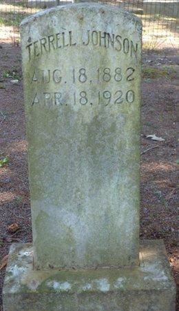 JOHNSON, TERRELL - Colbert County, Alabama   TERRELL JOHNSON - Alabama Gravestone Photos
