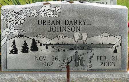 JOHNSON, URBAN DARRYL - Colbert County, Alabama   URBAN DARRYL JOHNSON - Alabama Gravestone Photos