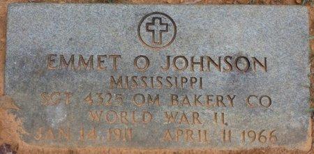 JOHNSON (VETERAN WWII), EMMET O (NEW) - Colbert County, Alabama | EMMET O (NEW) JOHNSON (VETERAN WWII) - Alabama Gravestone Photos
