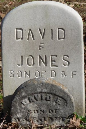 JONES, DAVID F - Colbert County, Alabama | DAVID F JONES - Alabama Gravestone Photos