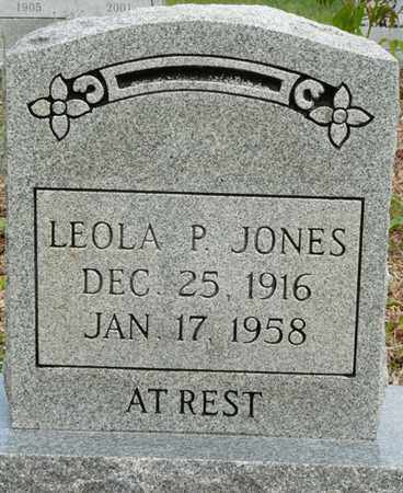 JONES, LEOLA P - Colbert County, Alabama | LEOLA P JONES - Alabama Gravestone Photos