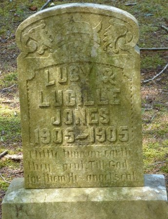 JONES, LUCY - Colbert County, Alabama   LUCY JONES - Alabama Gravestone Photos