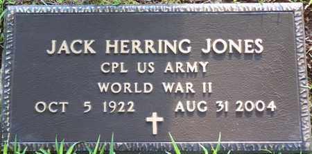 JONES (VETERAN WWII), JACK HERRING - Colbert County, Alabama | JACK HERRING JONES (VETERAN WWII) - Alabama Gravestone Photos