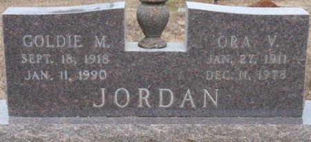 MOORE JORDAN, GOLDIE - Colbert County, Alabama | GOLDIE MOORE JORDAN - Alabama Gravestone Photos