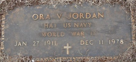 JORDAN (VETERAN WWII), ORA V - Colbert County, Alabama | ORA V JORDAN (VETERAN WWII) - Alabama Gravestone Photos