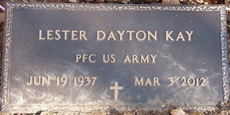 KAY (VETERAN), LESTER DAYTON - Colbert County, Alabama | LESTER DAYTON KAY (VETERAN) - Alabama Gravestone Photos
