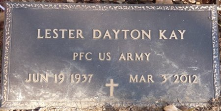 KAY (VETERAN), LESTER DAYTON - Colbert County, Alabama   LESTER DAYTON KAY (VETERAN) - Alabama Gravestone Photos