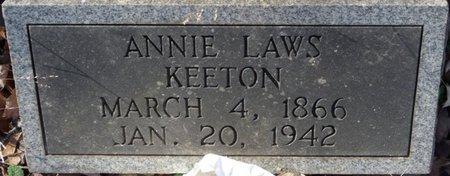 KEETON, ANNIE - Colbert County, Alabama   ANNIE KEETON - Alabama Gravestone Photos