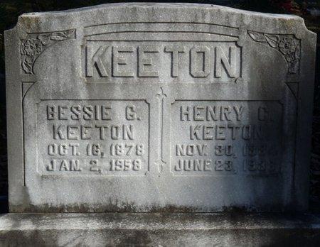 KEETON, BESSIE - Colbert County, Alabama | BESSIE KEETON - Alabama Gravestone Photos