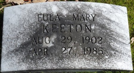 KEETON, EULA MARY - Colbert County, Alabama | EULA MARY KEETON - Alabama Gravestone Photos