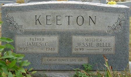 KEETON, JAMES C - Colbert County, Alabama | JAMES C KEETON - Alabama Gravestone Photos
