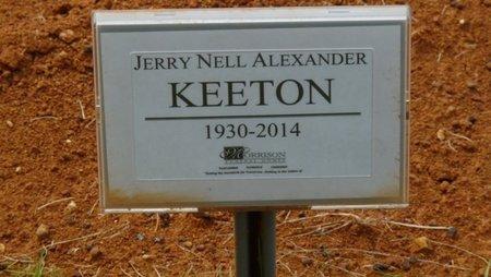 KEETON, JERRY NELL - Colbert County, Alabama | JERRY NELL KEETON - Alabama Gravestone Photos
