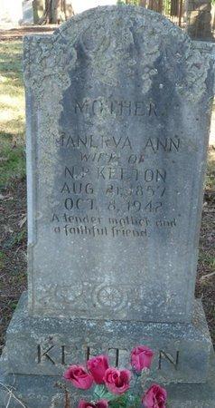 KEETON, MANERVA ANN - Colbert County, Alabama   MANERVA ANN KEETON - Alabama Gravestone Photos