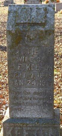 KEETON, MATTIE B - Colbert County, Alabama   MATTIE B KEETON - Alabama Gravestone Photos