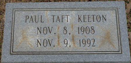 KEETON, PAUL TAFT - Colbert County, Alabama   PAUL TAFT KEETON - Alabama Gravestone Photos