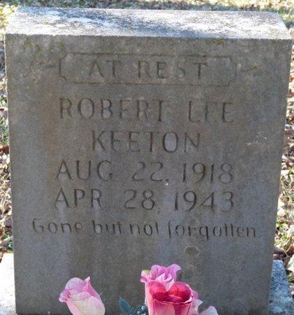 KEETON, ROBERT LEE - Colbert County, Alabama | ROBERT LEE KEETON - Alabama Gravestone Photos