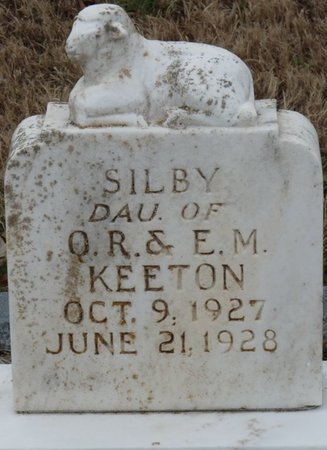 KEETON, SILBY - Colbert County, Alabama | SILBY KEETON - Alabama Gravestone Photos