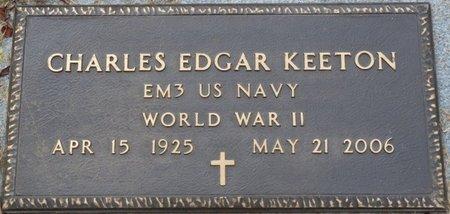 KEETON (VETERAN WWII), CHARLES EDGAR - Colbert County, Alabama   CHARLES EDGAR KEETON (VETERAN WWII) - Alabama Gravestone Photos