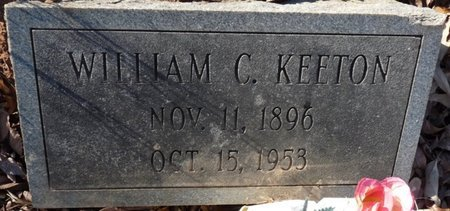 KEETON, WILLIAM CLEVELAND - Colbert County, Alabama | WILLIAM CLEVELAND KEETON - Alabama Gravestone Photos