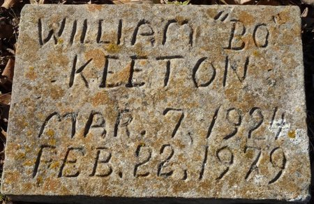 "KEETON, WILLIAM ""BO"" - Colbert County, Alabama | WILLIAM ""BO"" KEETON - Alabama Gravestone Photos"