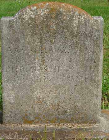 KELLAM, A.M. - Colbert County, Alabama | A.M. KELLAM - Alabama Gravestone Photos
