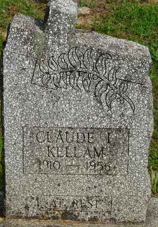 KELLAM, CLAUDE L - Colbert County, Alabama | CLAUDE L KELLAM - Alabama Gravestone Photos
