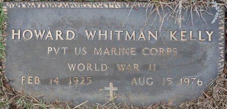 KELLY (VETERAN WWII), HOWARD WHITMAN - Colbert County, Alabama   HOWARD WHITMAN KELLY (VETERAN WWII) - Alabama Gravestone Photos