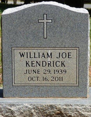 KENDRICK, WILLIAM JOE - Colbert County, Alabama   WILLIAM JOE KENDRICK - Alabama Gravestone Photos
