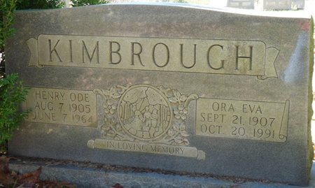 KIMBROUGH, ORA EVA - Colbert County, Alabama | ORA EVA KIMBROUGH - Alabama Gravestone Photos