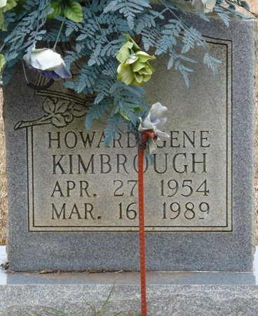 KIMBROUGH, HOWARD GENE - Colbert County, Alabama | HOWARD GENE KIMBROUGH - Alabama Gravestone Photos