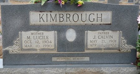 KIMBROUGH, MYRTLE LUCILE - Colbert County, Alabama | MYRTLE LUCILE KIMBROUGH - Alabama Gravestone Photos
