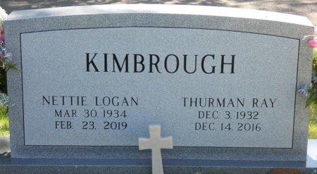 LOGAN KIMBROUGH, NETTIE - Colbert County, Alabama | NETTIE LOGAN KIMBROUGH - Alabama Gravestone Photos