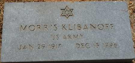 KLIBANOFF (VETERAN), MORRIS - Colbert County, Alabama | MORRIS KLIBANOFF (VETERAN) - Alabama Gravestone Photos