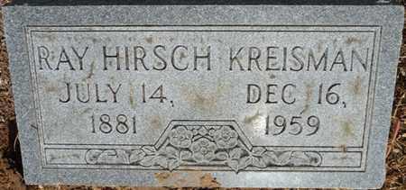KREISMAN, RAY HIRSCH - Colbert County, Alabama   RAY HIRSCH KREISMAN - Alabama Gravestone Photos