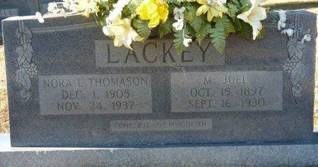THOMASON LACKEY, NORA L - Colbert County, Alabama | NORA L THOMASON LACKEY - Alabama Gravestone Photos