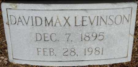 LEVINSON, DAVID MAX - Colbert County, Alabama | DAVID MAX LEVINSON - Alabama Gravestone Photos