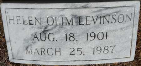 OLIM LEVINSON, HELEN - Colbert County, Alabama   HELEN OLIM LEVINSON - Alabama Gravestone Photos