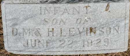 LEVINSON, INFANT SON - Colbert County, Alabama | INFANT SON LEVINSON - Alabama Gravestone Photos