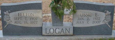 LOGAN, OSSIE ELIZABETH - Colbert County, Alabama   OSSIE ELIZABETH LOGAN - Alabama Gravestone Photos