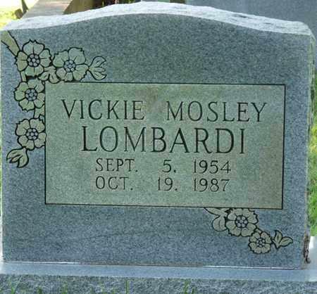 MOSLEY LOMBARDI, VICKIE - Colbert County, Alabama   VICKIE MOSLEY LOMBARDI - Alabama Gravestone Photos