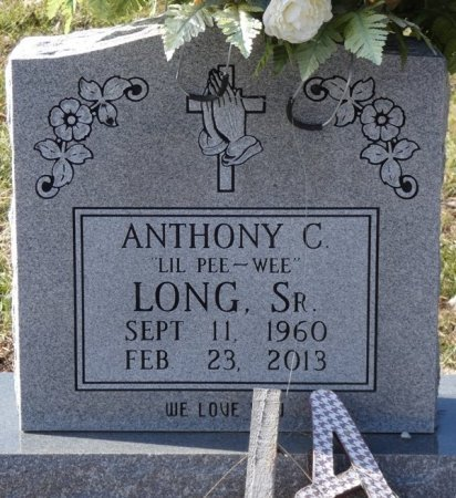 "LONG, SR, ANTHONY COLIVATO ""LITTLE PEE WEE"" - Colbert County, Alabama 