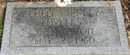 LOVELESS, LUELLA - Colbert County, Alabama | LUELLA LOVELESS - Alabama Gravestone Photos