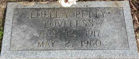 PETTY LOVELESS, LUELLA - Colbert County, Alabama | LUELLA PETTY LOVELESS - Alabama Gravestone Photos